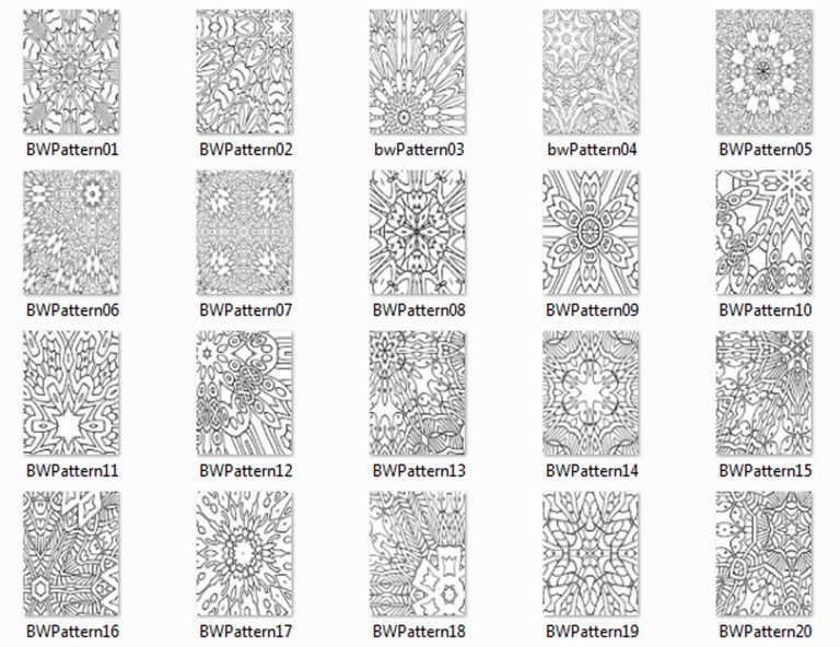 B&W Patterns