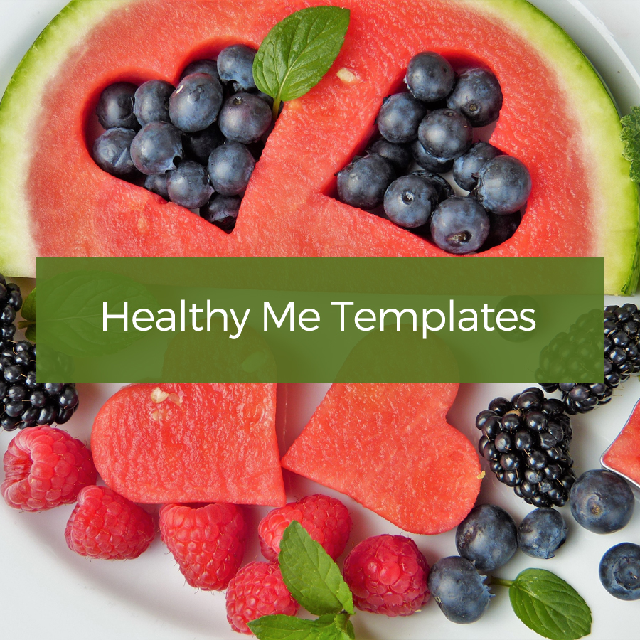 Healthy Me Templates