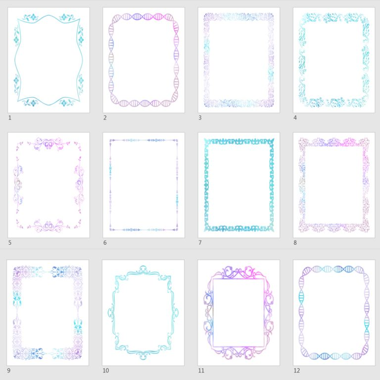 watercolor journal templates