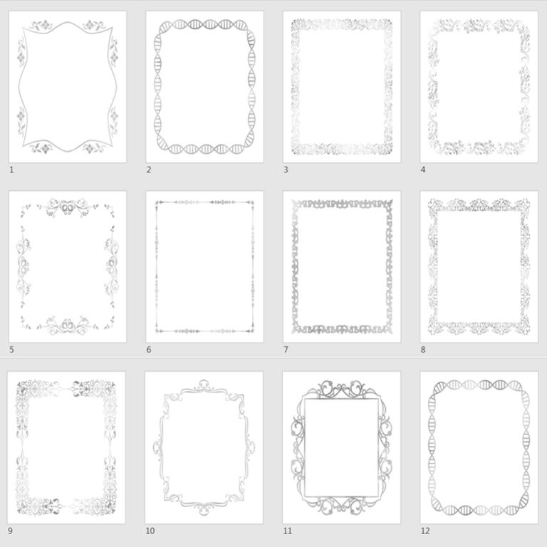 grayscale journal templates