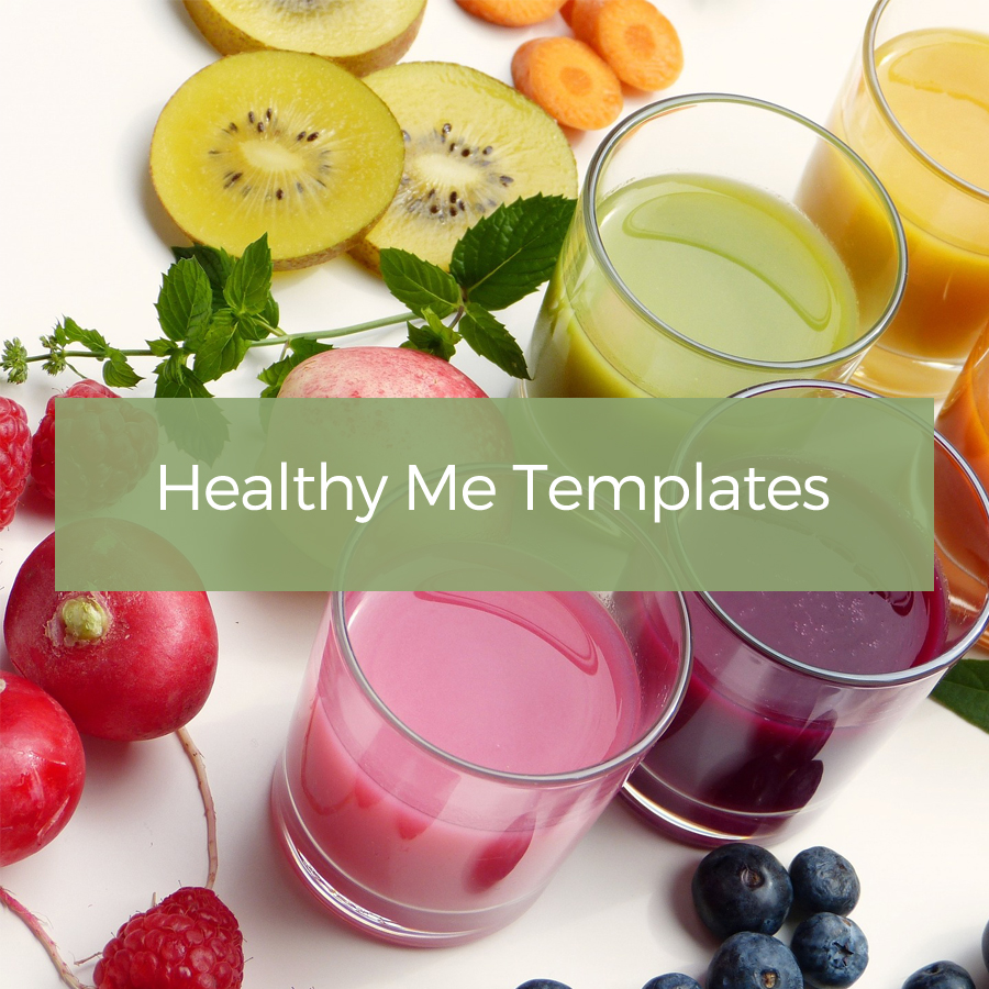 healthy me journal templates