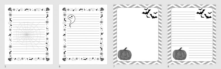 Halloween Journal Images
