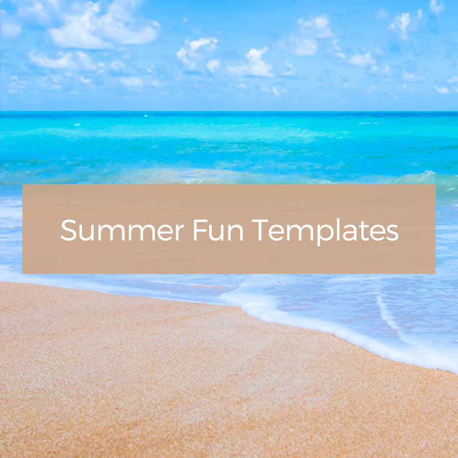 Summer Fun Journal Templates