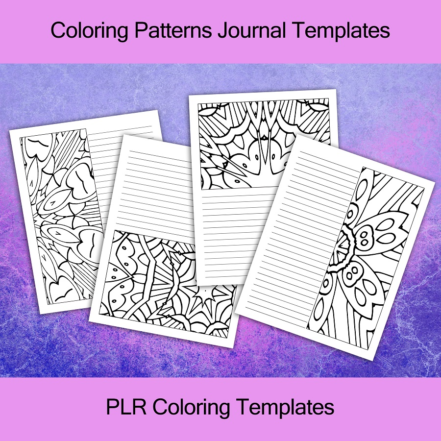 Coloring Patterns Templates