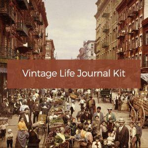 Vintage Life Journal Kit