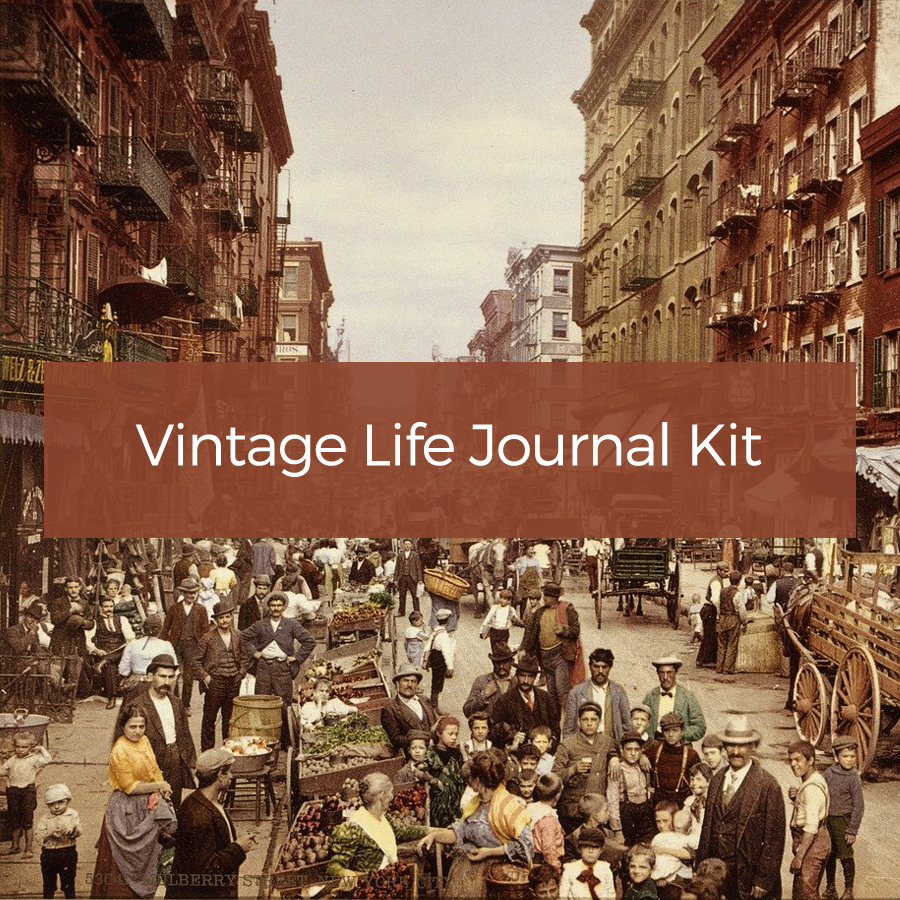Vintage Life Journal Kit
