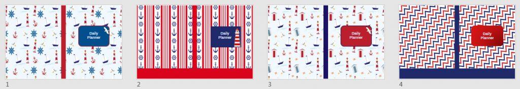 nautical book covers