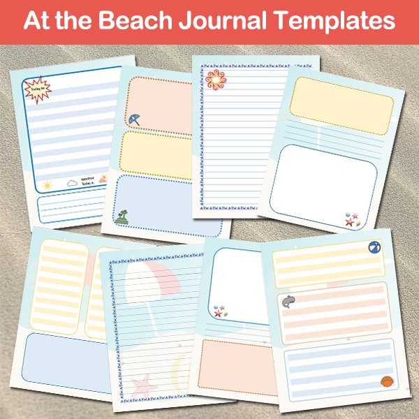 Beach Journal Templates