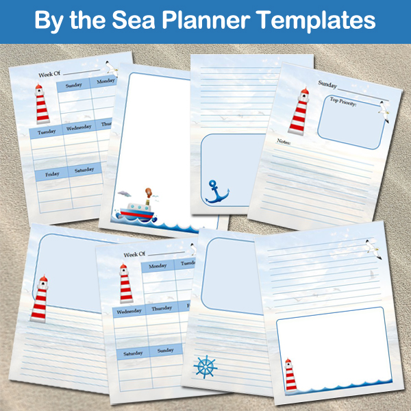By the Sea Planner