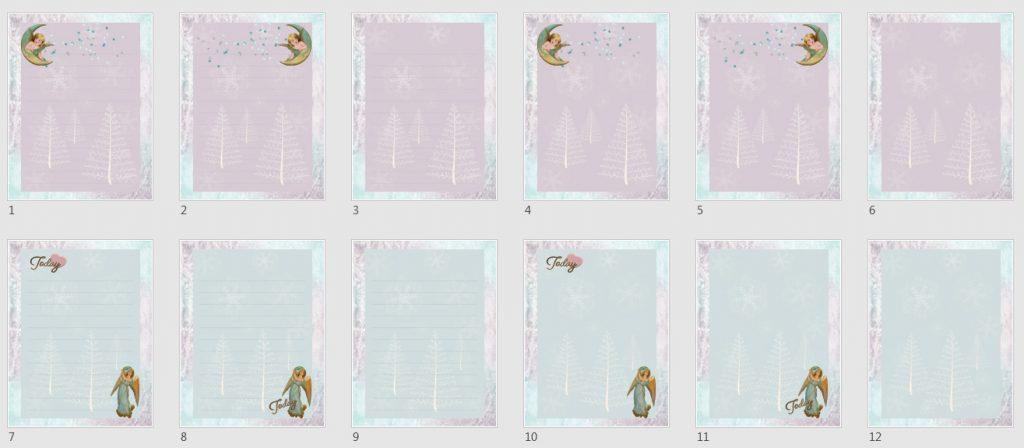 Angels & Snowflakes Paper Pack 2