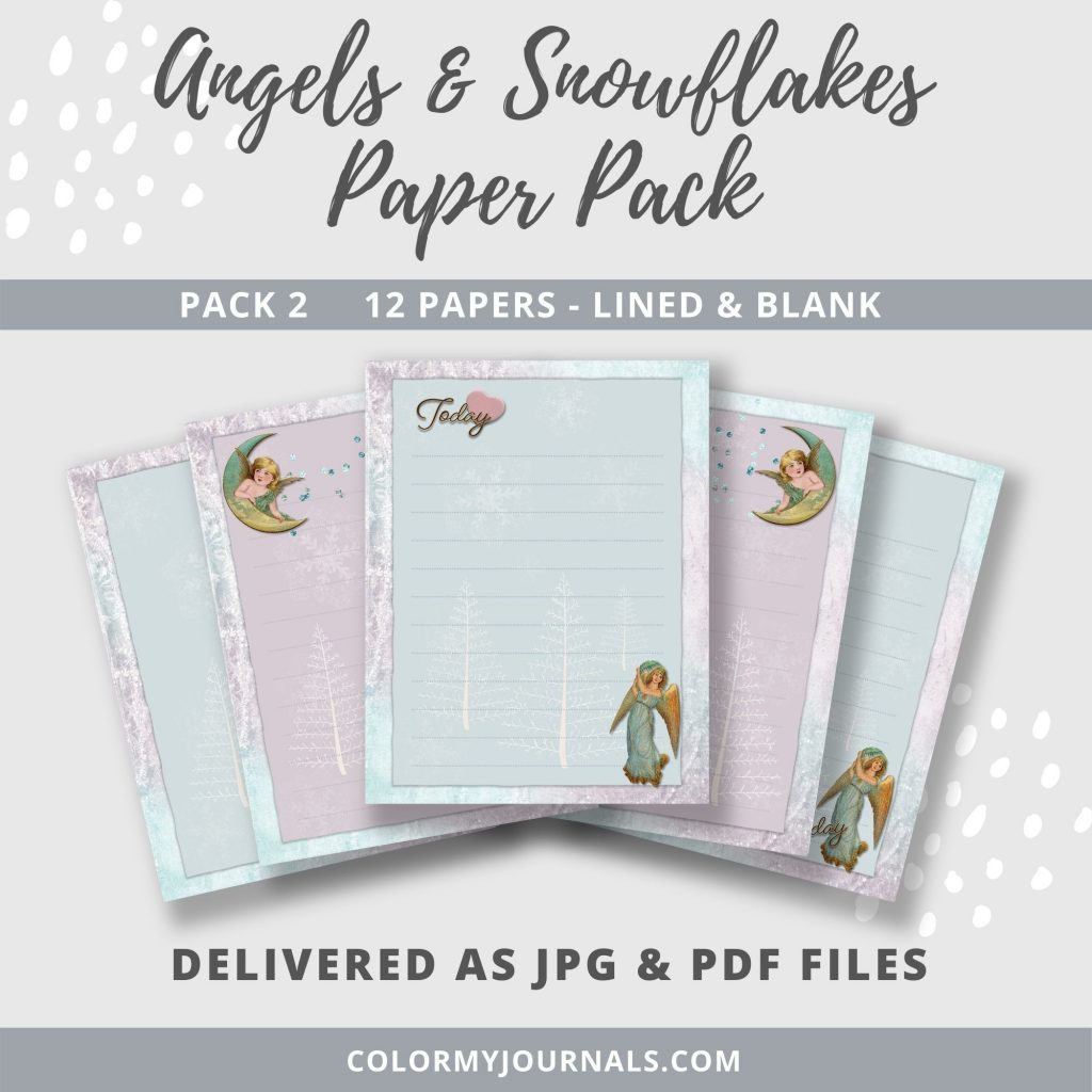 Angels & Snowflakes Paper Pack 2