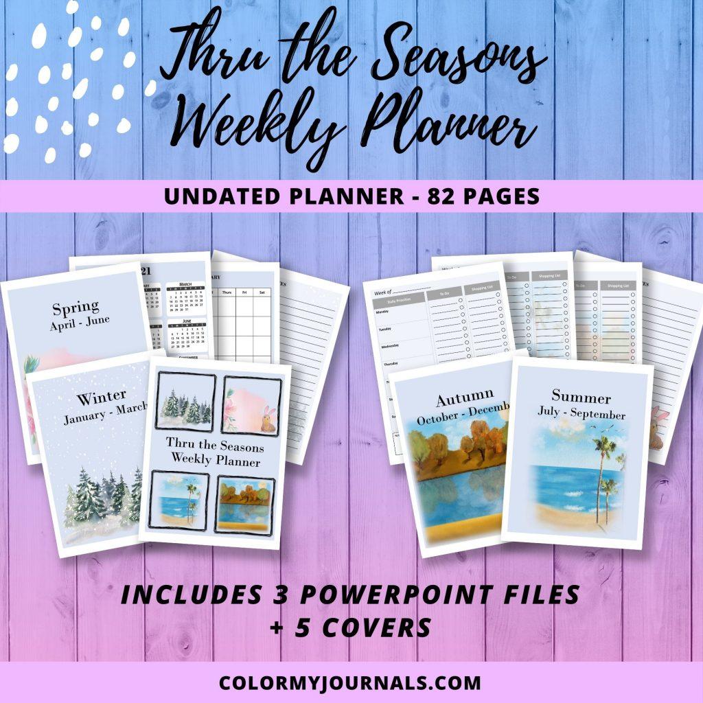 2021 Weekly Planner