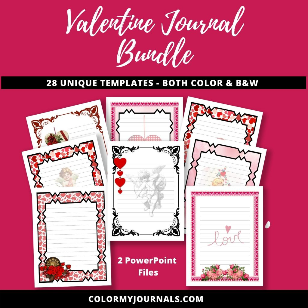 Valentine Journal Bundle